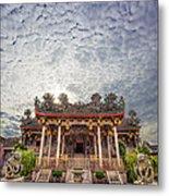 Khoo Kongsi Temple Metal Print