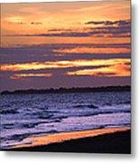 Kiawah Sunset Metal Print