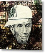 kid Lincoln Metal Print