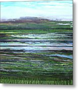 Kielderwater Rhythms And Reflections Metal Print
