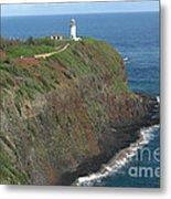 Kilauea Lighthouse Metal Print by Deborah Smolinske