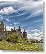 Kilchurn Castle 01 Metal Print