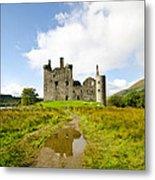 Kilchurn Castle 2 Metal Print