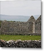 Kilmacduagh Church Ruin Metal Print
