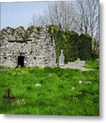 Kilmore Church Ruins - Founded By St Patrick - Ballina Co Mayo Metal Print