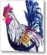 Kilohana Rooster Metal Print