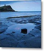 Kimmeridge Bay At Dawn Metal Print