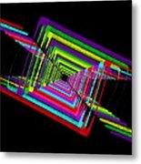 Kinetic Rainbow 17 Metal Print