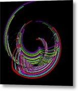Kinetic Rainbow 18 Metal Print