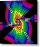 Kinetic Rainbow 47 Metal Print