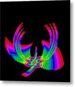 Kinetic Rainbow 49 Metal Print