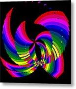 Kinetic Rainbow 51 Metal Print