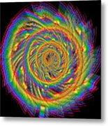 Kinetic Rainbow 60 Metal Print