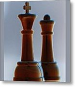 King And Queen Metal Print