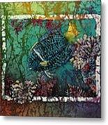 King Angelfish Metal Print