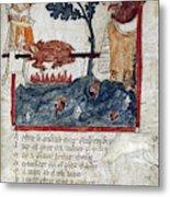 King Arthur And Giant Metal Print