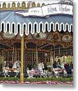 King Arthur Carrousel Fantasyland Disneyland Metal Print