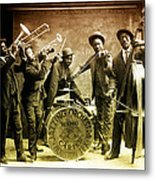King Carter Jazzing Orchestra Metal Print