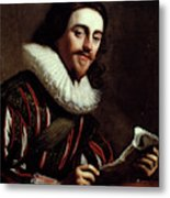 King Charles I Of England (1600-1649) Metal Print