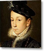 King Charles Ix Of France Metal Print