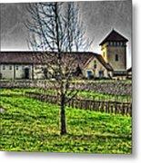 King Estate Winery Metal Print