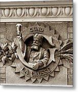 King Gambrinus Metal Print