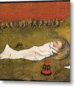 King Hobgoblin Sleeping Metal Print