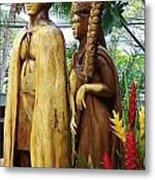 King Kamehameha Metal Print
