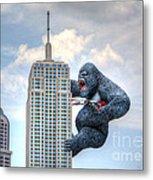 King Kong Comes To Myrtle Beach Metal Print