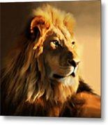 King Lion Of Africa Metal Print