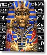 King Of Egypt Metal Print