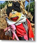 King Of Hearts Scarecrow By Diana Sainz Metal Print