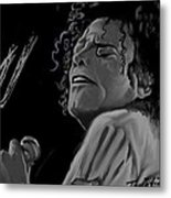 King Of Pop Metal Print by Twinfinger