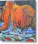 King Of The Fishes Metal Print