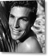 King Of The Jungle, Buster Crabbe, 1933 Metal Print