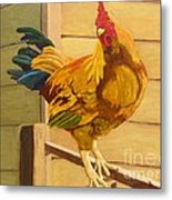 King Of The Roost Metal Print