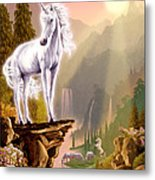 King Of The Valley Metal Print