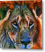 King Of The Wilderness Metal Print