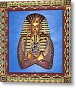 King Tut - Handcarved Metal Print
