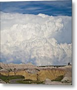 Kingdom Clouds Metal Print