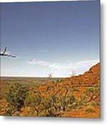 Kings Canyon-the Rim Metal Print
