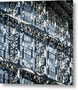 Kings Cross St Pancras Windows Metal Print