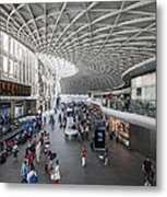 Kings Cross Station Metal Print