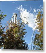 Kings Dominion - Hypersonic Xlc - 12121 Metal Print by DC Photographer