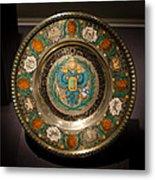 King's Plate Metal Print