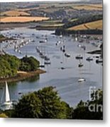 Kingsbridge Estuary Devon Metal Print