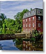 Kingston Mill Near Princeton New Jersey Metal Print