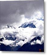Kinner Kailash Hills- Himachal Pradesh- Viator's Agonism Metal Print