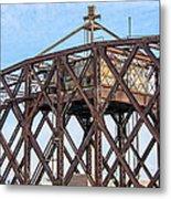 Kinnickinnic River Swing Bridge  4 Metal Print