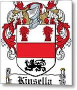 Kinsella Coat Of Arms Irish Metal Print
